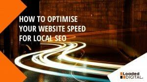 Lightening Website speed